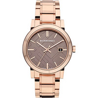 BU9005 rose gold-plated bracelet watch