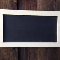 Wood  framed chalkboard, kitchen blackboard, small hanging chalkboard - multiple colors