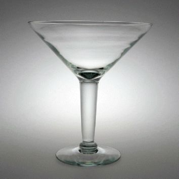 Large Martini Glass Vase