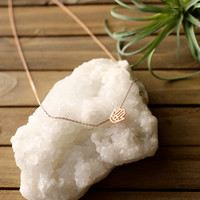 Dainty Hand Necklace
