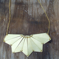 Galactic Beam Necklace /lux frontier collection by seaofbees