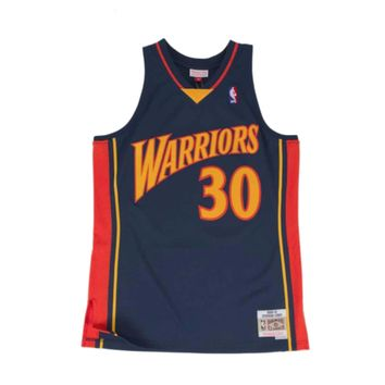 Mitchell & Ness Stephen Curry Swingman Jersey Golden State Warriors Navy