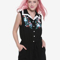 Disney Alice In Wonderland Retro Roses Romper
