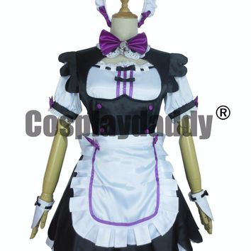 Nekopara Coconut maid Cosplay Costume F008