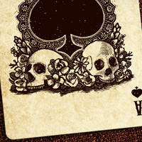 Calaveras - Day of the Dead Playing Cards
