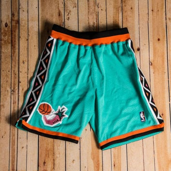 Mitchell & Ness - 1996 Authentic Shorts All-Star (Teal/Orange/White)
