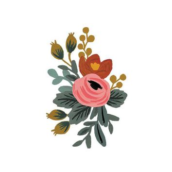 Rosa by Rifle Paper Co. from Tattly Temporary Tattoos