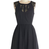 ModCloth LBD Mid-length Sleeveless A-line Bringing Fancy Back Dress