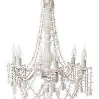 Gossamer White Chandelier Light - PLASTICLAND