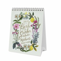 2018 Rifle Paper Co. Herb Garden Desk Calendar