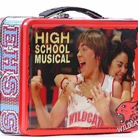 High School Musical Troy and Gabriella Wildcats Tin Lunch Box