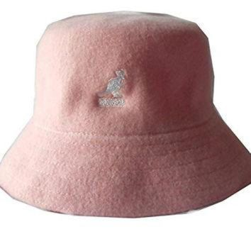 CREYON Kangol wool lahinch polo bucket fisherman hat cap (Small 6374074a73f