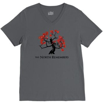 the north remembers 2 V-Neck Tee