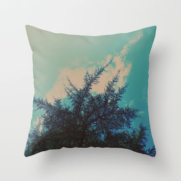 Go With The Flow Throw Pillow by DuckyB (Brandi)