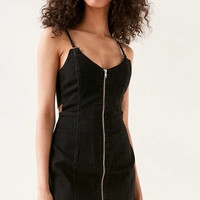 TWIIN Subtract Zip-Front Mini Dress - Urban Outfitters