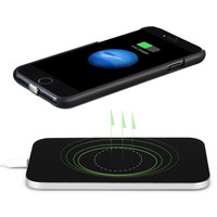 Qi Wireless Charger for iPhone 7/7 Plus,Included Qi Wireless Charger Pad+Receiver Case/Back Cover