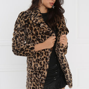 Love & Leopard Coat - Leopard