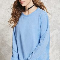 High-Low Fleece Sweatshirt