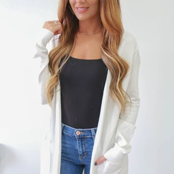Remember Me Cardigan - Ivory