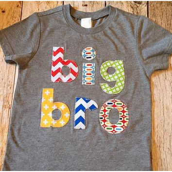 Big Brother To Be Sibling Shirt big bro lil bro big sis lil sis