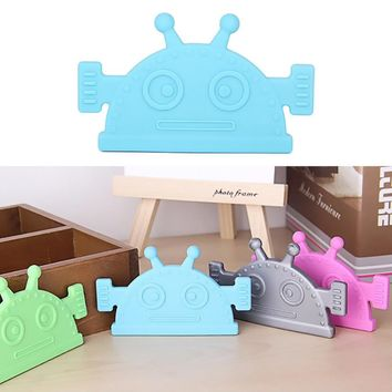 Silicone Robot Chew Molars Teether Toys For Baby
