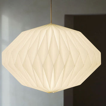 HEAVEN KNOWS  |||  CLEAR   -   origami lampshade