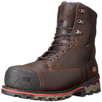 "Timberland PRO Men's 8"" Boondock Comp-Toe Waterproof Work Boot  timberland boots for men"