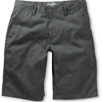 Free World Hooligan Heather Grey Chino Shorts