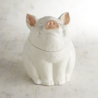 Pig Ceramic Cookie Jar