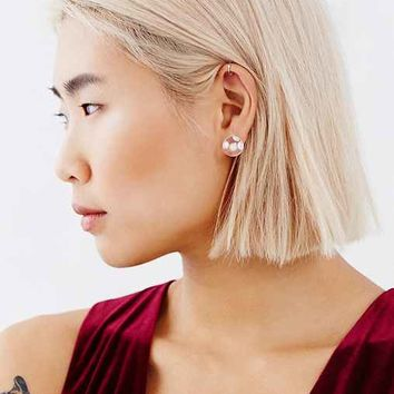MAYU Pearl Bubble Front/Back Earring