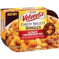 KRAFT VELVEETA CHEESY SINGLES ULTIMATE CHEESEBURGER MAC 9 OZ