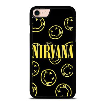 NIRVANA SMILEY COLLAGE iPhone 8 Case Cover