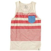 CCS Tank Top Engineered Stripe - Men's at CCS