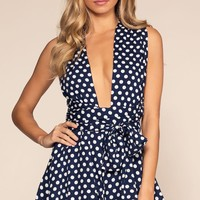 Polly Polka Dot Romper