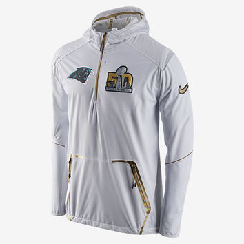 The SB50 Nike Fly Rush Alpha (NFL Panthers) Men's Jacket.