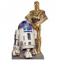 Advanced Graphics Star Wars - R2-D2