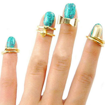 Starshine Midi Ring Set