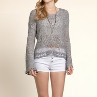 Boneyard Beach Bell Sleeve Sweater