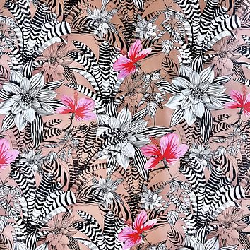 Bulk Ream Roll Floral All-Occasion Gift Wrap Wrapping Paper, Bromeliad CLOSEOUT