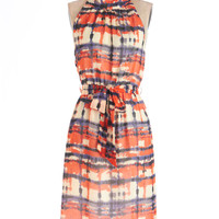 Winsome Watercolors Dress