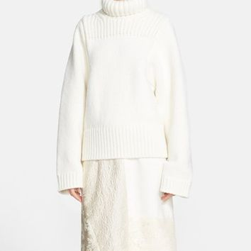 Women's Stella McCartney Fisherman Turtleneck Sweater,