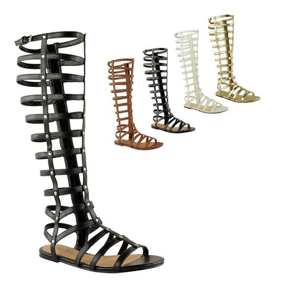 fashion thirsty womens cut out gladiator from amazon shoes. Black Bedroom Furniture Sets. Home Design Ideas