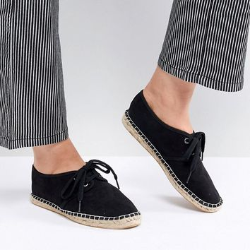 ASOS JADIRA Lace Up Espadrilles at asos.com