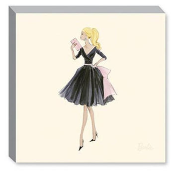 Midnight Mischief Barbie Fashion Canvas Print