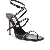 OFF-WHITE x Jimmy Choo Jane Sandal in Black | FWRD
