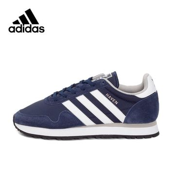 Official New Arrival Adidas Originals HAVEN Men's Skateboarding Shoes Sneakers Classique Shoes Platform