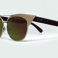 Quay - Zig Gold Sunglasses