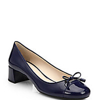 Prada - Patent Leather Pumps - Saks Fifth Avenue Mobile