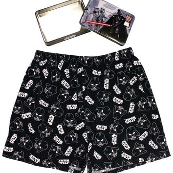 Star Wars Mens Boxer in Collector Tin Darth Vader