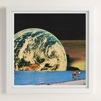 Mariano Peccinetti Distant Beach Print | Urban Outfitters